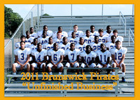 2011-2012 BHS PIRATES - FOOTBALL