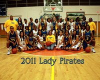 BHS Ladies Basketball 2011