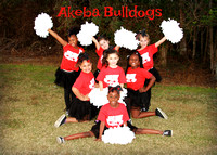 Akeba Bulldogs Cheerleaders